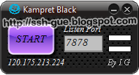 Kampret Telkomsel Black Inject Support Ssh Dropbear