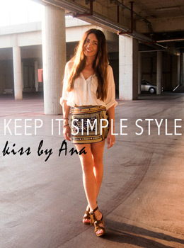 Perfect white shirt, Kiss by Ana, Ana Josipović, Keep it simple style, Street Style Seconds