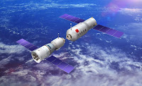 china space program animation set to america the beautiful