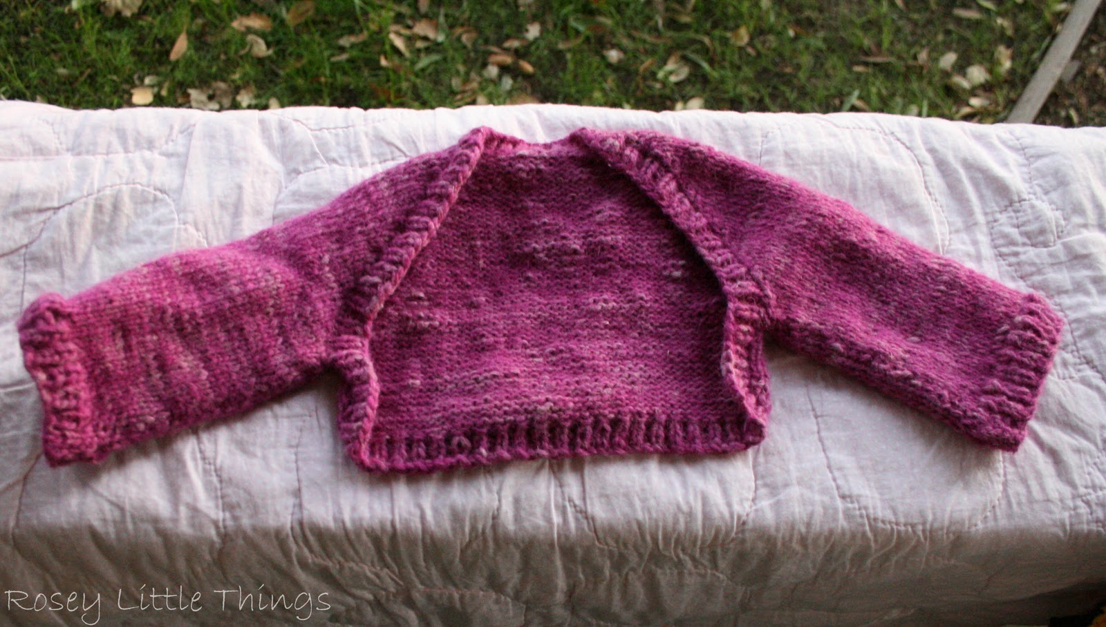 Ballet Shrug Knitting Pattern : Rosey Little Things: Made it Monday!!