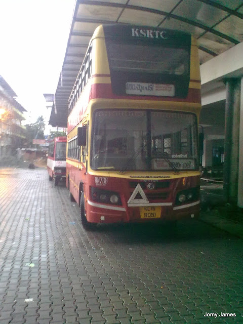 Double Decker bus of KSRTC