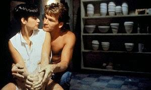 Demi Moore y Patrick Swayze en Ghost (Más allá del amor)