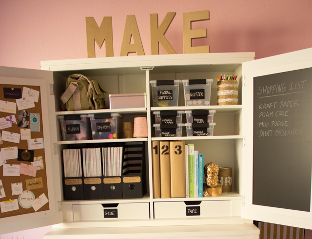 Design Improvised: Craft Room Ideas