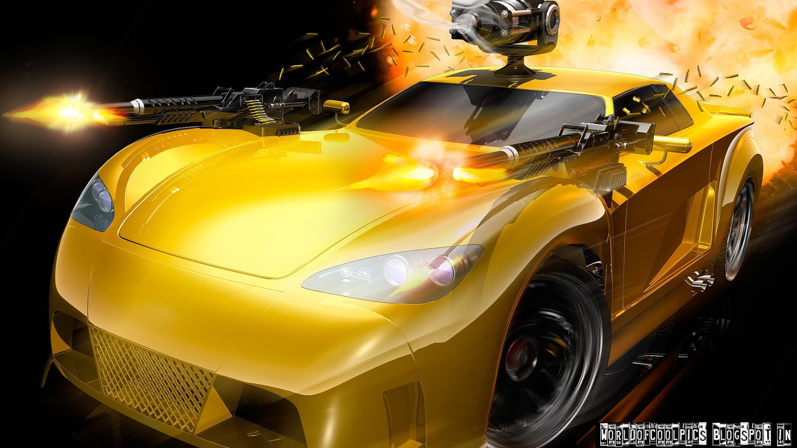 Its Cool Or Hot Car With Guns Welcome To World Of Images - Cool cars with guns
