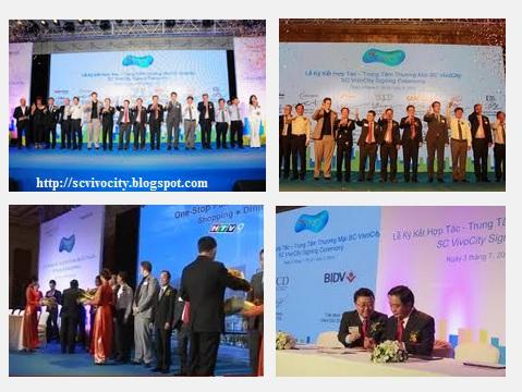 Đối tác của trung tâm mua sắm SC VivoCity Việt Nam