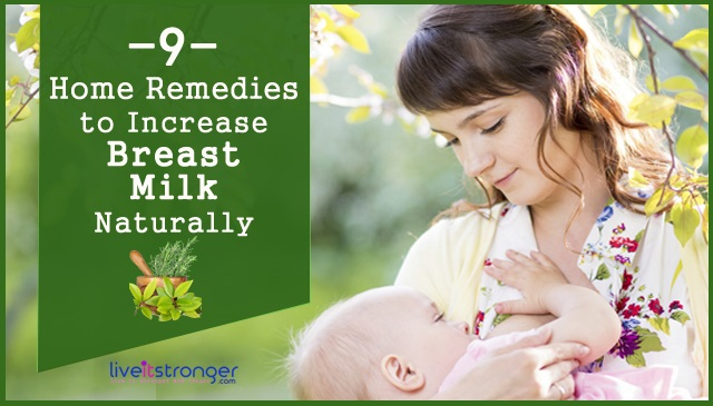 home remedies for breast milk