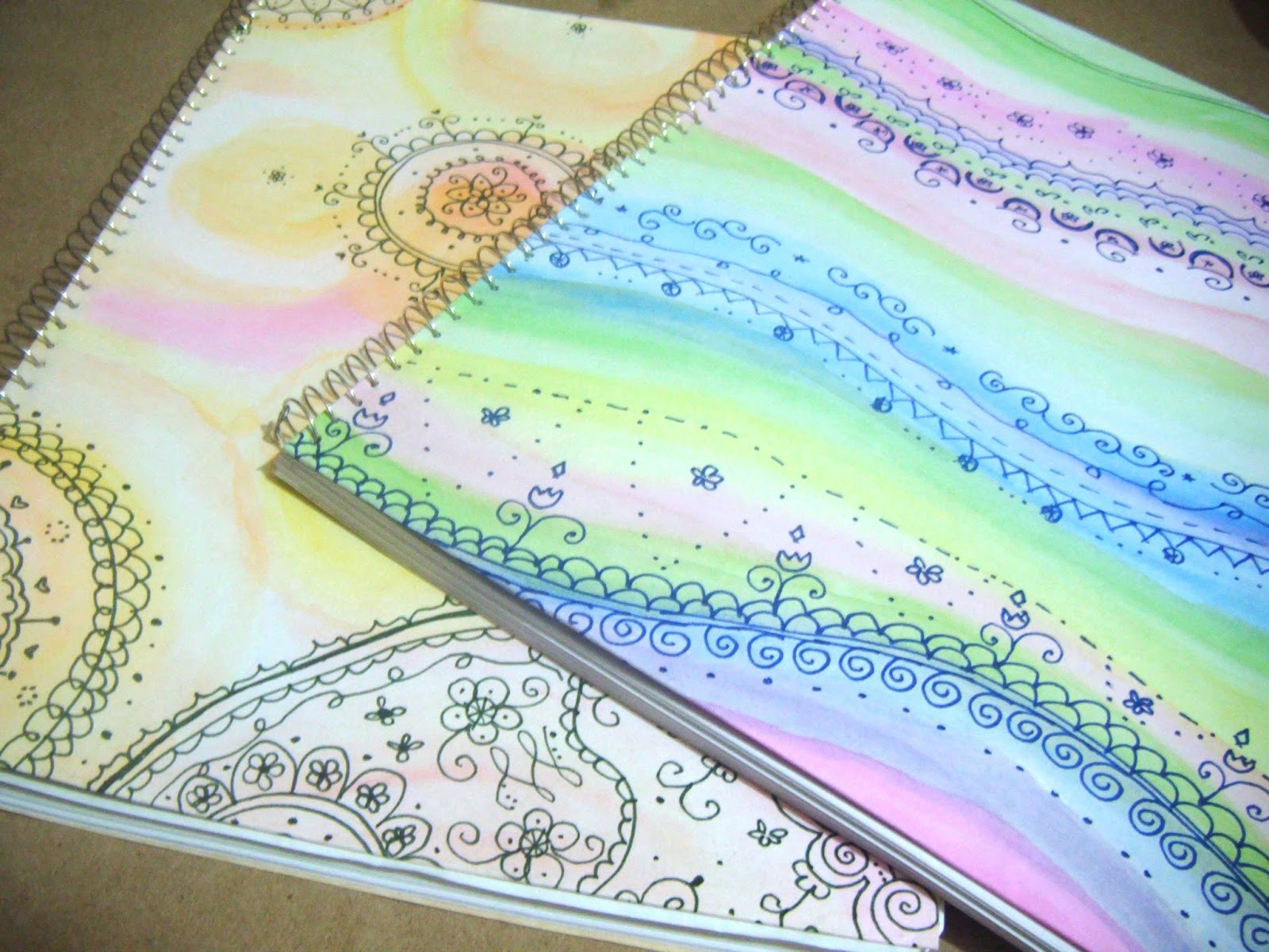 Decora tus libretas parte 1 the white curl - Pared decorada con fotos ...