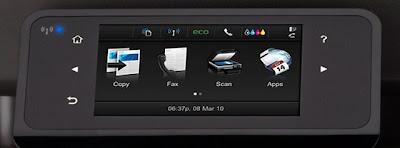 pantalla para uso Impresora multifunción HP Officejet Pro X576dw (CN598A)