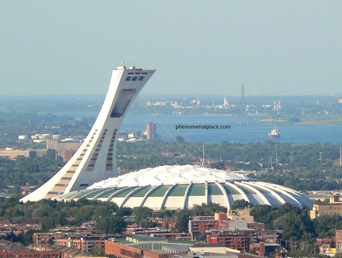 top montreal olympic stadium -#main