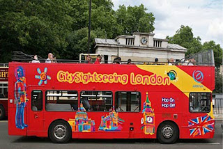 sight seeing bus tour-london hopoff