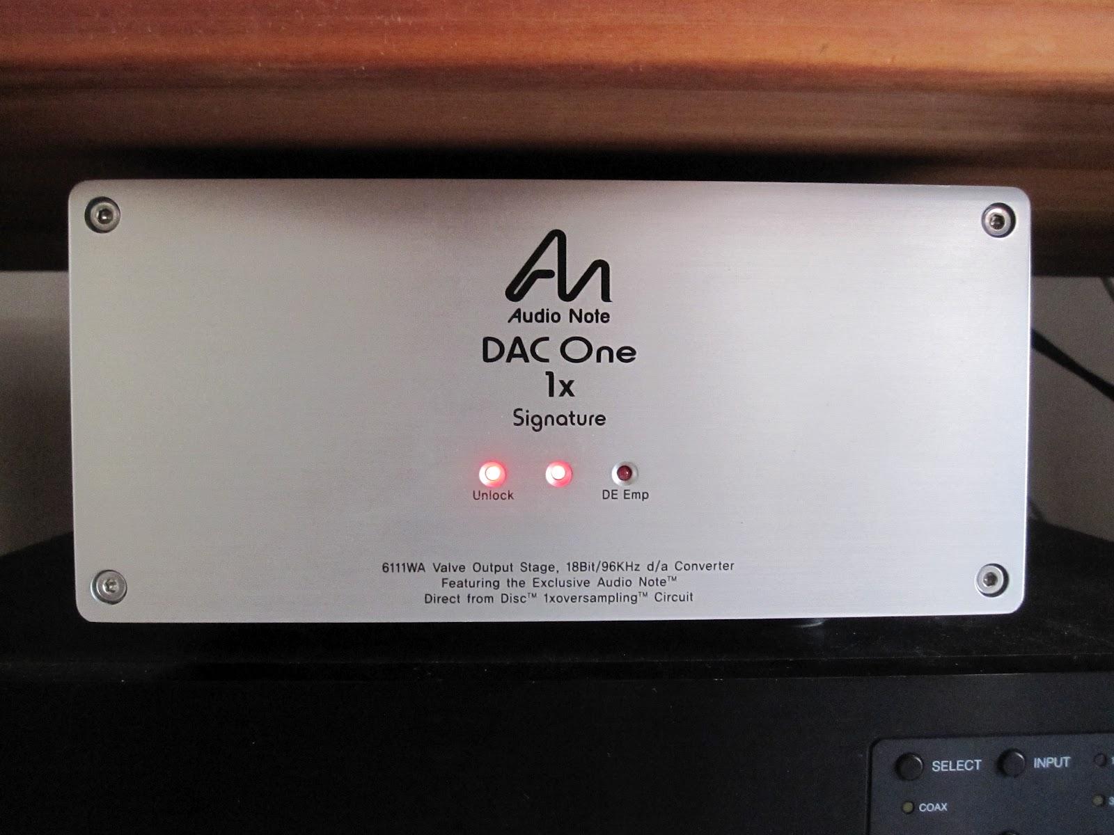 Myoldvintagehifi Audio Note Dac One 1x Signature