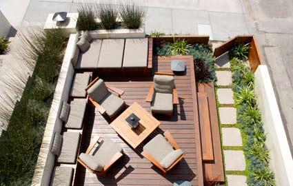 lou lou pear deck design modern tree house in manhattan beach by kaa design group