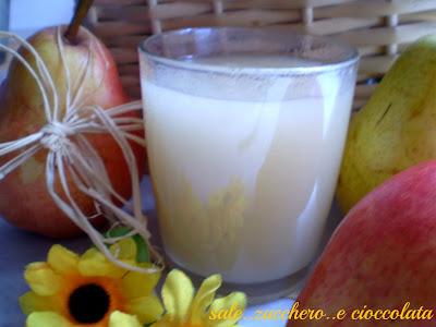 il succo di frutta.....fatto da me...