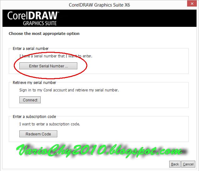 corel draw x3 dan serial number