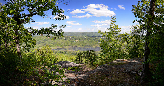 scenic Berkshire view from Lenox Mountain / Yokun Ridge