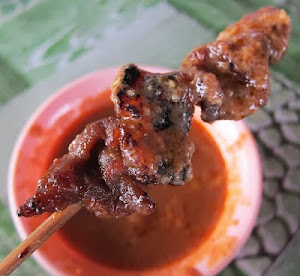 Beef Satay With Delicious Peanut Sauce