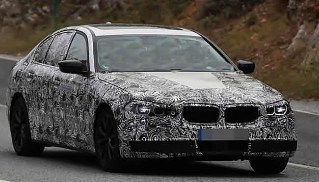 2017 BMW 5 Series Redesign Modern Facelift