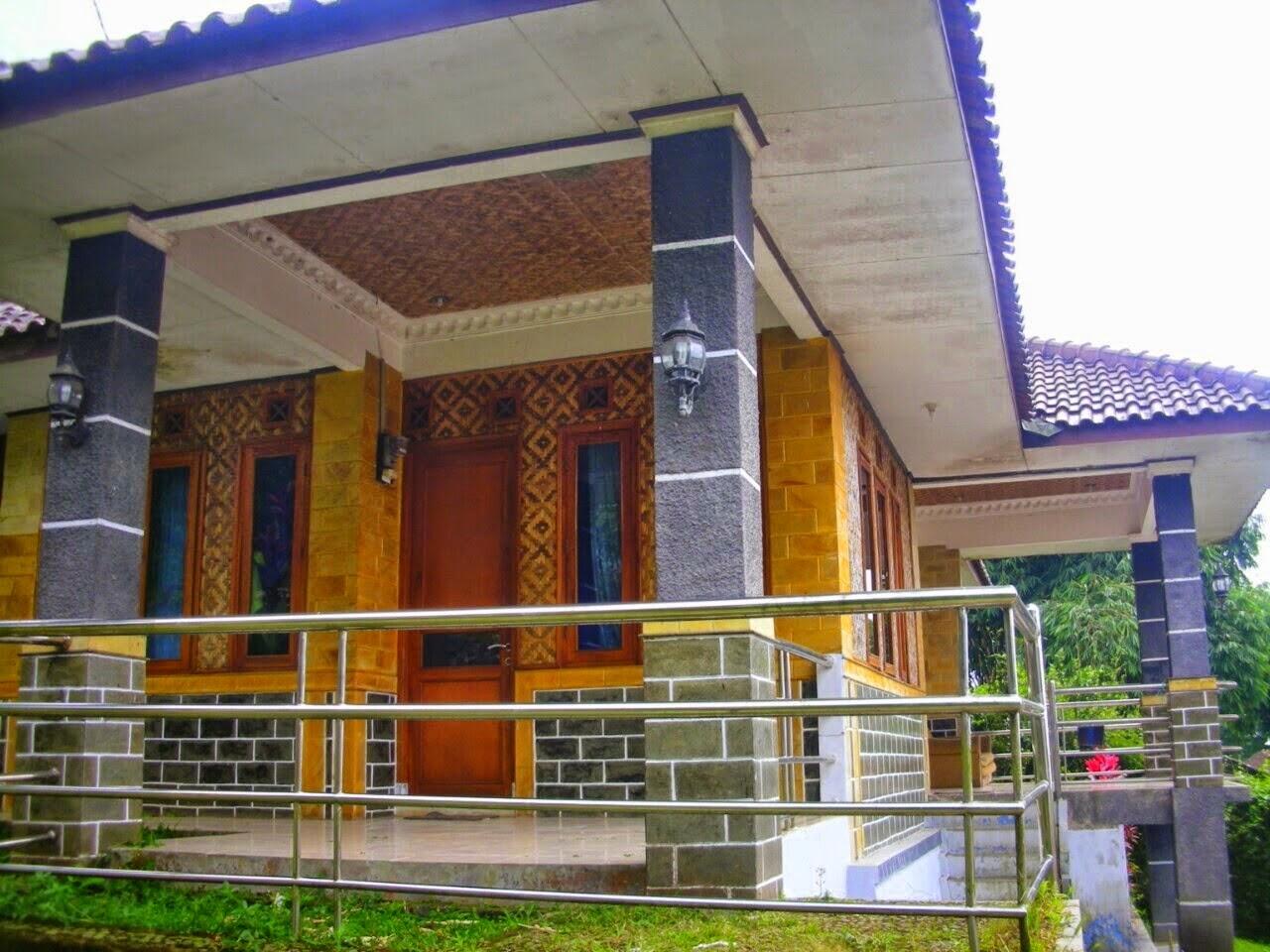 villa di lokasi wisata ci panas