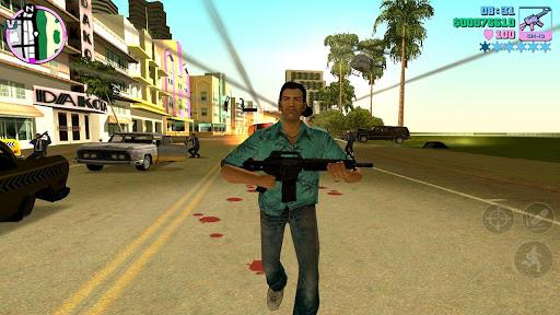 Grand theft auto vice city Game hành động nhập vai Mod Full tiền và xe - 16676