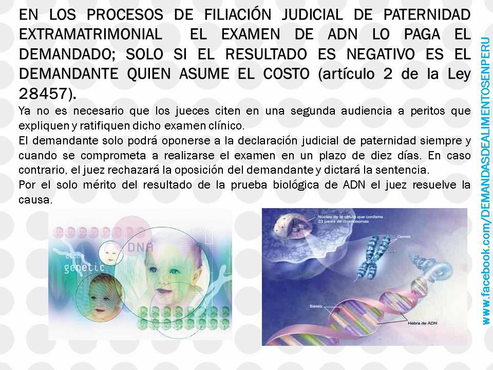 FILIACIÓN JUDICIAL DE PATERNIDAD