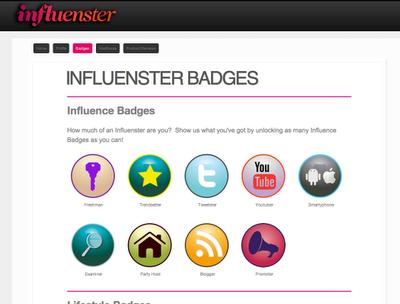 how to get badges on influenster