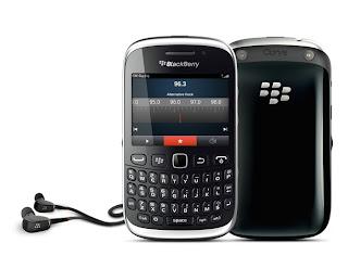 Spesifikasi dan Harga BlackBerry Curve 9320 Juni 2013