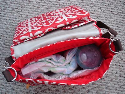 compact diaper bag