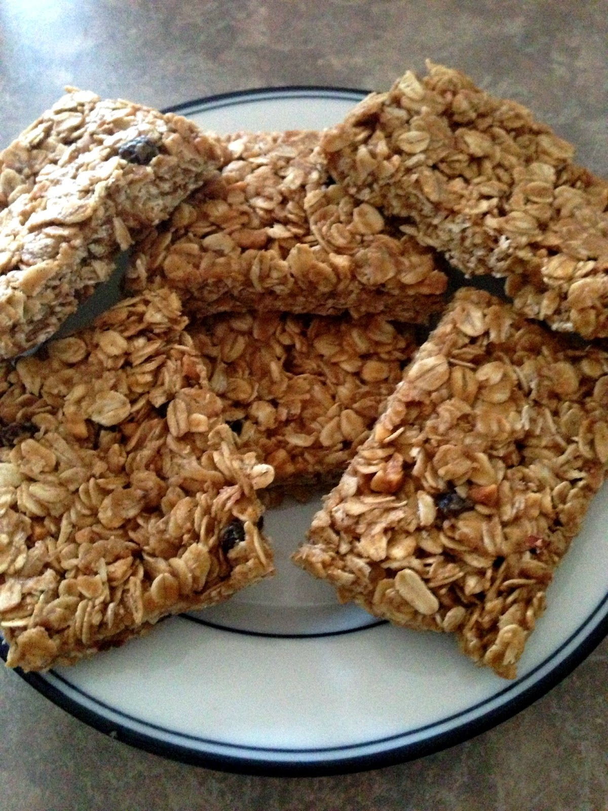 Savory Sweet and Satisfying: Peanut Butter Granola Bars