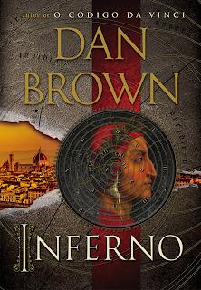 Capa brasileira do livro Inferno, de Dan Brown