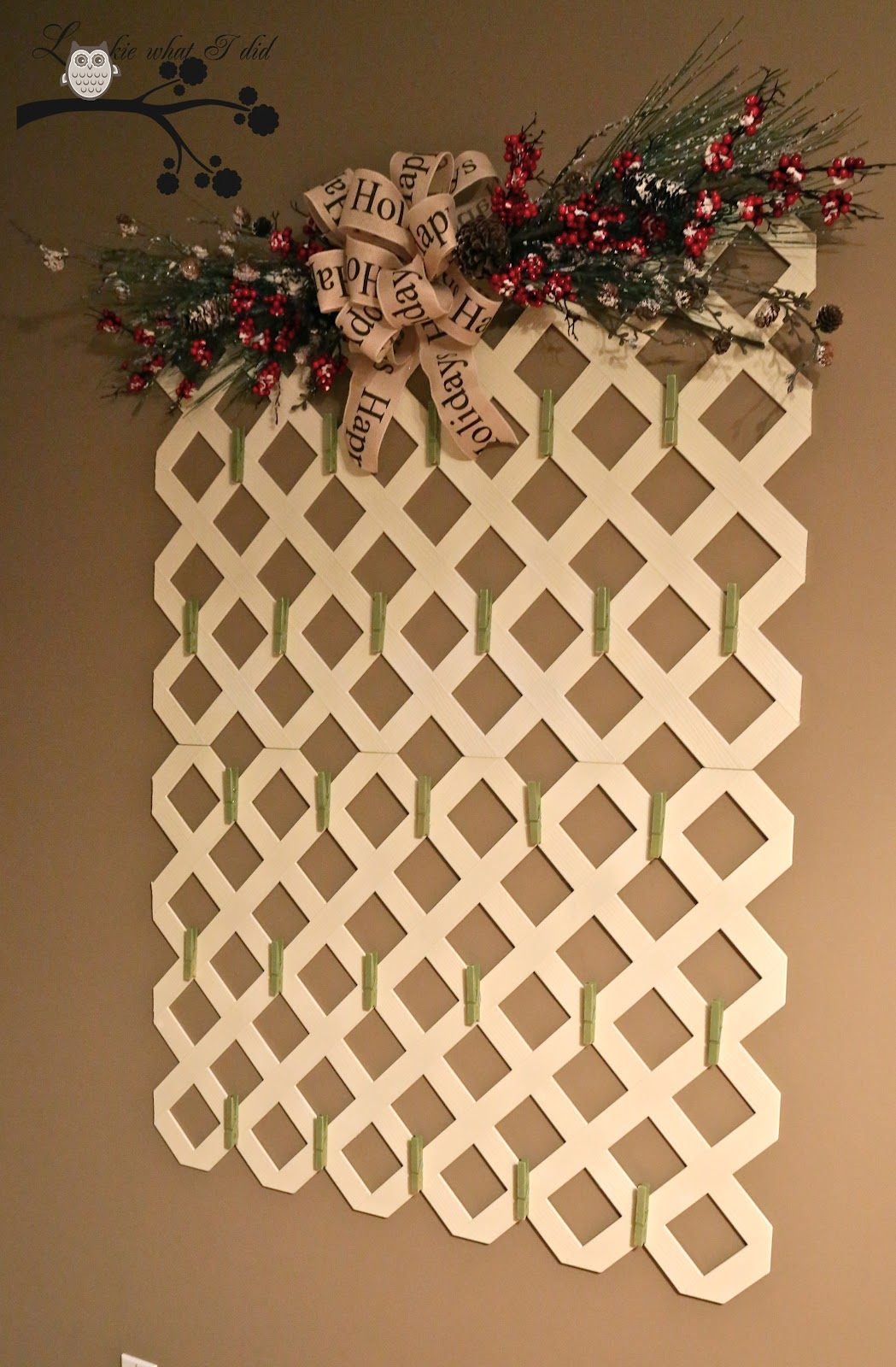 The Farmhouse Porch Christmas In July Lattice Card