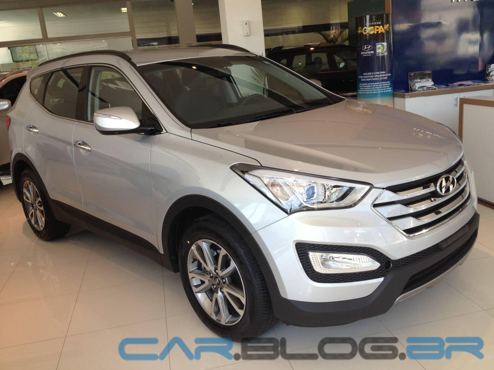 Novo Hyundai Santa Fé 2014: fotos, preços e especificações