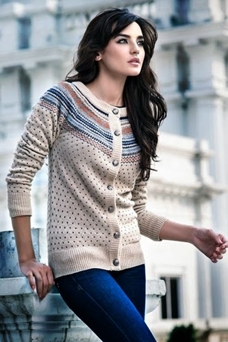 Pakistani Women's Sweater Fashion by Zeen