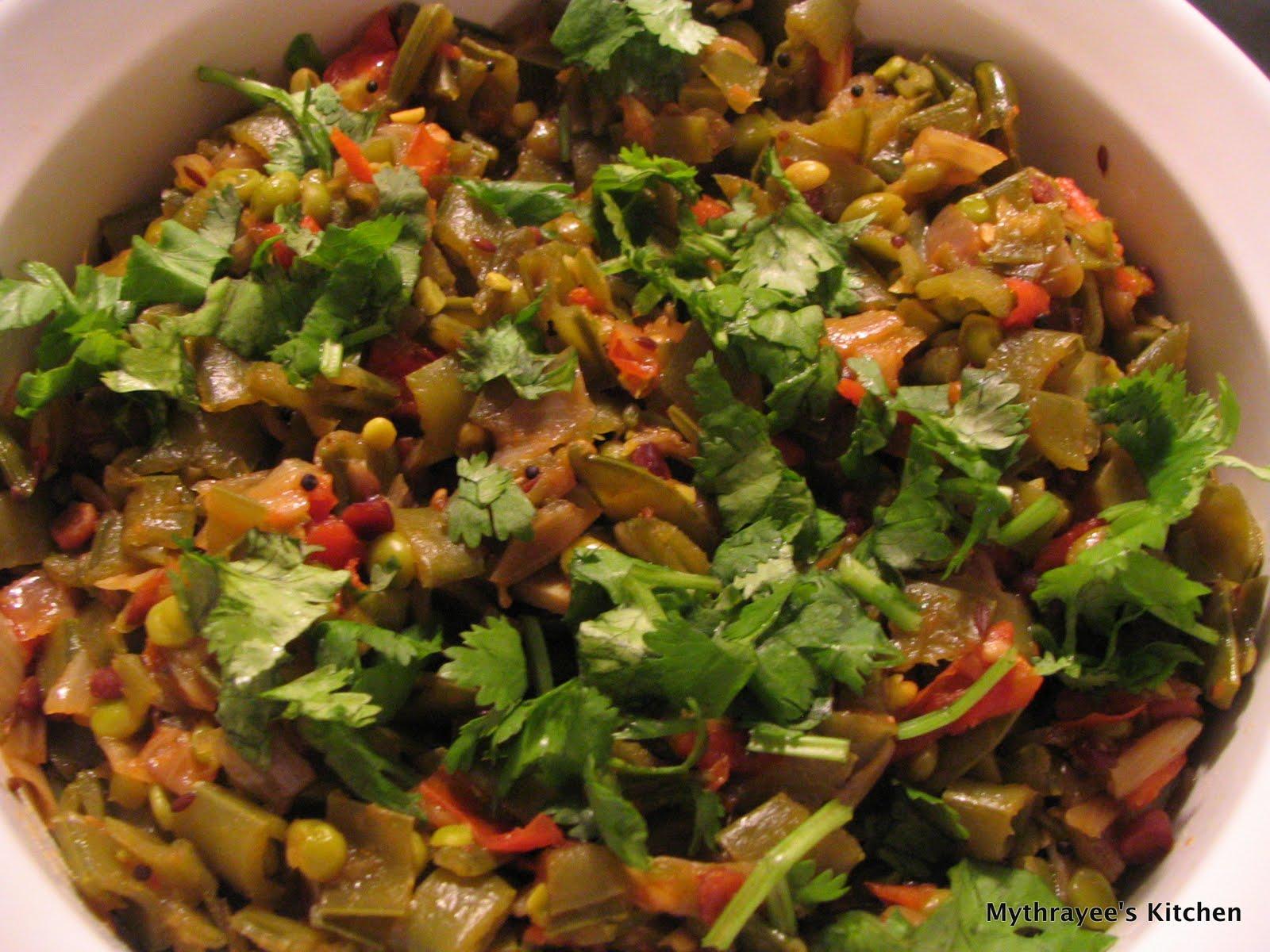 Sugar Snap Peas Curry   Mythrayee\'s Kitchen