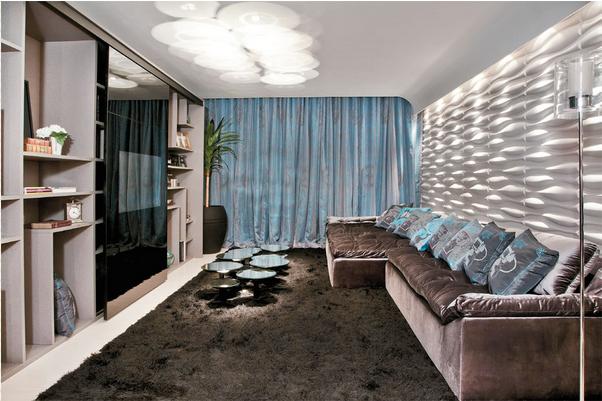 Sala De Tv Parede Preta ~  na decoração!  Decor Salteado  Blog de Decoração e Arquitetura