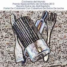 Premio Especial Receta dulce Reto de Octubre 2013