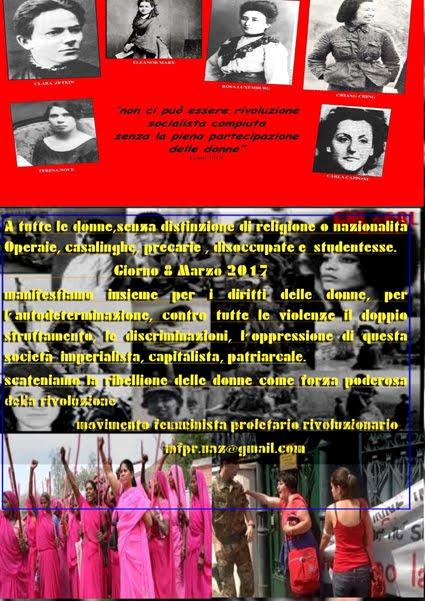 Locandina 8 marzo internazionale