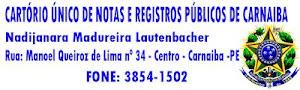 CARTÓRIO ÚNICO DE NOTAS
