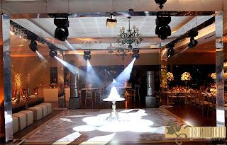 pista de dança, estrutura espelhadas, bolo Barabara Singelo