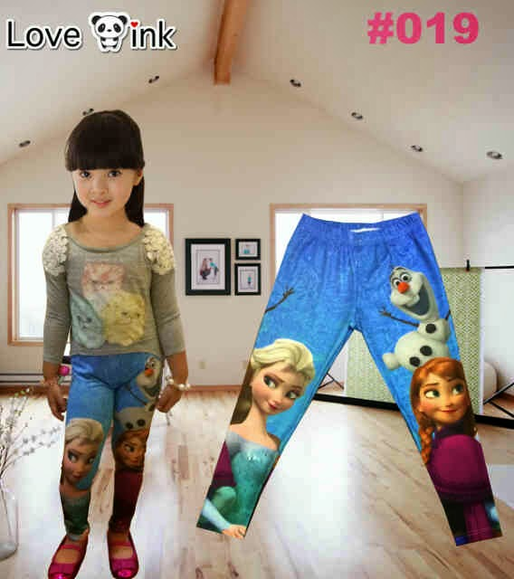 Legging Kids Frozen 019.Love Ink.