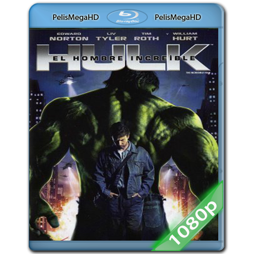 El Increíble Hulk [Hulk 2] (2008) 1080P HD MKV ESPAÑOL LATINO
