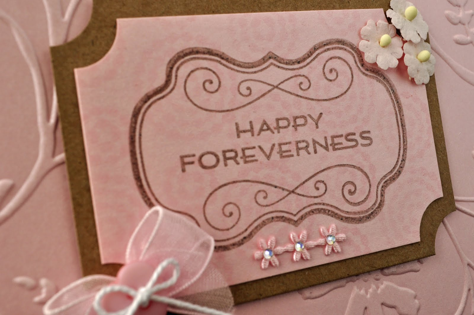 Inky Fingers: Waltzing Mouse Wedding Card