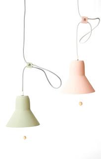 lampe MOSS bois pastel design