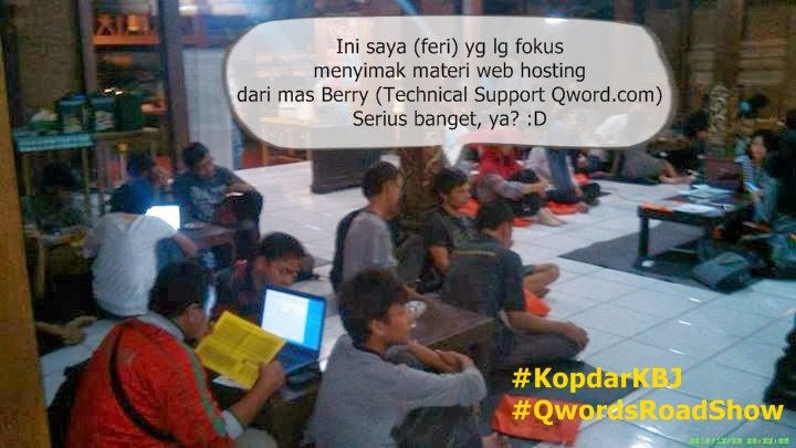 Kodar Blogger Jogja dengan Web Hosting Top Indonesia, Qwords.com