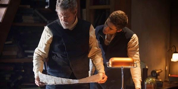Jeff Bridges e Brenton Thwaites em O DOADOR DE MEMÓRIAS (The Giver)
