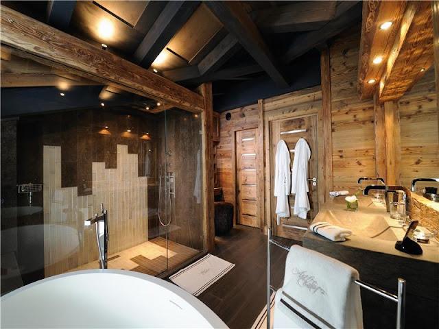 Sauna - Casa Samael  Cuarto+de+ba%25C3%25B1o+de+lujo