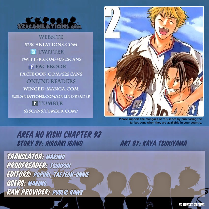 xem truyen moi - Area no Kishi - Chapter 92