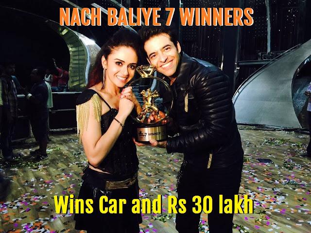 Amruta Khanvilkar is Nach Baliye 7 Winner, gets Car and Rs 30 lakh