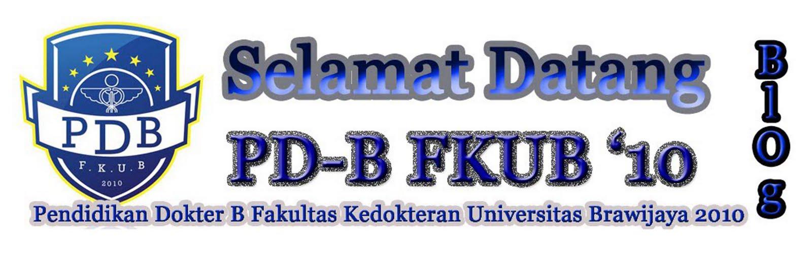 PD-B FKUB 2010