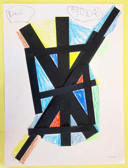 Mondrian Primary Colors Lesson Plan Kindergarten