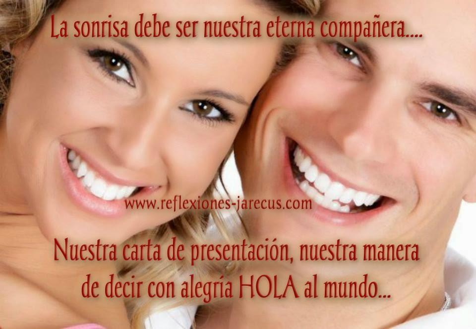 La sonrisa debe ser nuestra eterna compañera